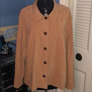 Briggs Jackets & Coats - Briggs 2x faux suede jackets tan and green